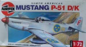 AIRFIX 1/72 02098 NORTH AMERICAN P-51D/K MUSTANG