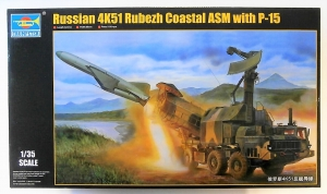 TRUMPETER 1/35 01035 RUSSIAN 4K51 RUBEZH COASTAL ASM WITH P-15  UK SALE ONLY