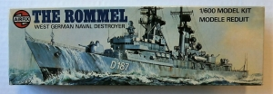 AIRFIX 1/600 02202 THE ROMMEL