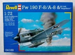 REVELL 1/72 04169 Fw 190 F-8/A-8   Bv 246 HAGELKORN