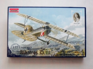 RODEN 1/72 030 ALBATROS D.III OEFFAG s.153 LATE