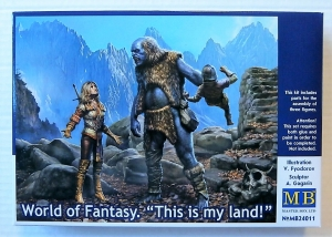MASTERBOX 1/24 24011 WORLD OF FANTASY THIS IS MY LAND