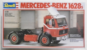 REVELL 1/25 7409 MERCEDES BENZ 1628S WITH SPOILER