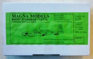 MAGNA 1/72 3472 SHORT STURGEON TT.2/TT.3