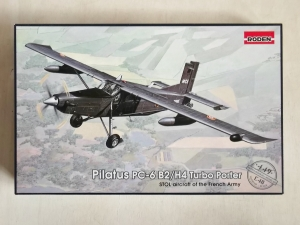 RODEN 1/48 449 PILATUS PC-6 B2/H4 TURBO PORTER
