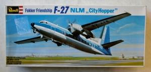 REVELL  0102 F-27 FOKKER FRIENDSHIP NLM CITYHOPPER