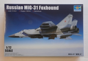 TRUMPETER 1/72 01679 RUSSIAN MiG-31 FOXHOUND