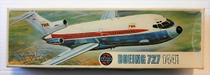 AIRFIX 1/144 SK503 BOEING 727 TWA