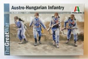 ITALERI 1/35 6528 AUSTRO-HUNGARIAN INFANTRY WWI