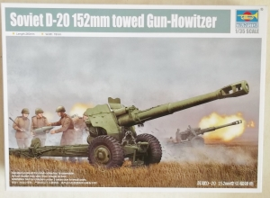 TRUMPETER 1/35 02333 SOVIET D-20 152mm TOWED GUN HOWITZER