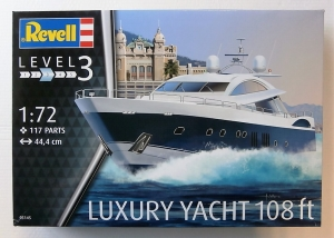REVELL 1/72 05145 LUXURY YACHT 108ft