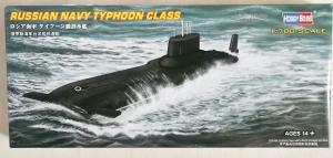 HOBBYBOSS 1/700 87019 RUSSIAN NAVY TYPHOON CLASS