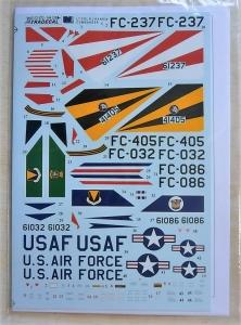 XTRADECAL 1/72 72164 CONVAIR F-102A DELTA DAGGER