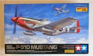 TAMIYA 1/32 60322 NORTH AMERICAN P-51D MUSTANG