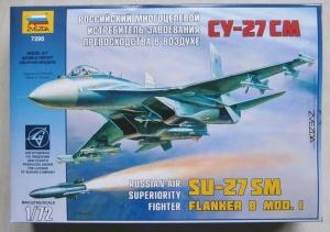 ZVEZDA 1/72 7295 Su-27SM FLANKER B MOD.I