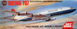 AIRFIX 1/144 04170 BOEING 707 BRITISH AIRWAYS