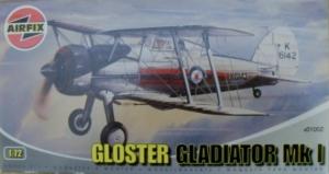 AIRFIX 1/72 01002 GLOSTER GLADIATOR Mk.I