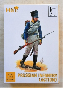 HAT INDUSTRIES 1/72 8254 PRUSSIAN INFANTRY  ACTION
