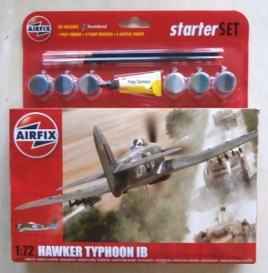 AIRFIX 1/72 55208 HAWKER TYPHOON IB STARTER SET