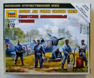 ZVEZDA 1/72 6187 SOVIET AIR FORCE GROUND CREW