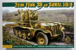ACE 1/72 72286 2cm FLAK 38 Sfl Sd.Kfz.10/4