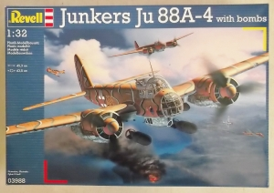 REVELL 1/32 03988 JUNKERS Ju 88A-4 WITH BOMBS