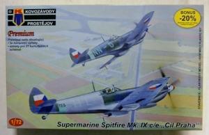 KP 1/72 0060 SUPERMARINE SPITFIRE Mk.IX C/E CIL PRAHA