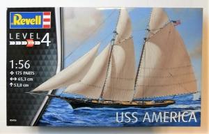REVELL  05416 USS AMERICA  UK SALE ONLY  1/56