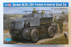 HOBBYBOSS 1/35 82491 GERMAN Sd.Kfz.254 TRACKED ARMOURED SCOUT CAR