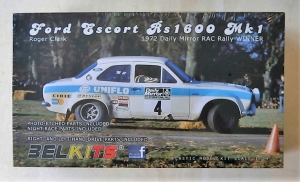BELKITS 1/24 007 FORD ESCORT RS1600 Mk.I RALLY 1972