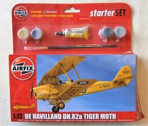 AIRFIX 1/72 55115 DE HAVILLAND TIGER MOTH DH.82a