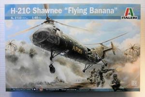 ITALERI 1/48 2733 H-21C SHAWNEE FLYING BANANA