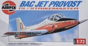 AIRFIX 1/72 03049 BAC JET PROVOST T5/STRIKEMASTER