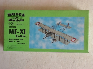 OMEGA 1/72 72045 FARMAN F-XI bis ARMOUR