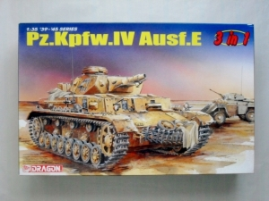 DRAGON 1/35 6264 Pz.Kpfw IV Ausf.E 3 IN 1