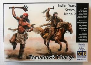 MASTERBOX 1/35 35192 INDIAN WARS SERIES No.2 TOMAHAWK CHARGE