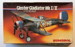 HUMBROL 1/72 72003 GLOSTER GLADIATOR Mk.I/II