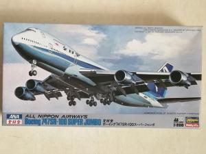 HASEGAWA 1/200 LD7 BOEING 747SR-100 SUPER JUMBO ALL NIPPON AIRWAYS