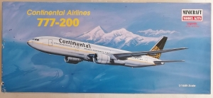 MINICRAFT 1/144 14478 CONTINENTAL AIRLINES 777-200