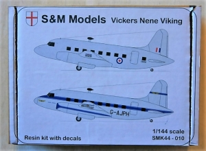 S M MODELS 1/144 SMK44-010 VICKERS NENE VIKING