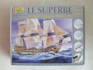 HELLER 1/500 49067 LE SUPERBE
