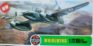 AIRFIX 1/72 02064 WESTLAND WHIRLWIND FIGHTER  NEW TOOL