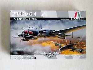 ITALERI 1/72 1314 MESSERSCHMITT Bf 110 G-4