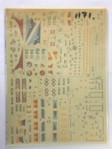 MODELDECAL 1/72 1171. 88 RAF METEORS F.8 FR.9 NF.11 12   14 - ARMEE DE l AIR MIRAGES IIIC/E/R/5F