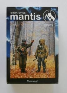 MANTIS MINIATURES 1/35 35019 THIS WAY - 2 GERMAN SOLDIERS WWII