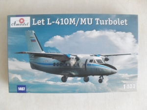 A MODEL 1/144 1467 LET L-410M/MU TURBOLET