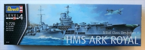 REVELL 1/720 05149 HMS ARK ROYAL  TRIBAL CLASS DESTROYER