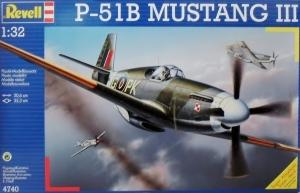REVELL 1/32 4740 P-51B MUSTANG III