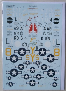 XTRADECAL 1/72 72196 70th ANNIVERSARY D-DAY PART 3 USAAF 8th   9th AIRFORCES