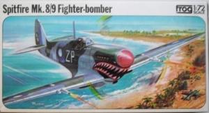 FROG 1/72 F237/F233 SPITFIRE Mk.8/9